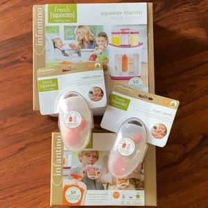 NWT unopened infantino squeeze station set